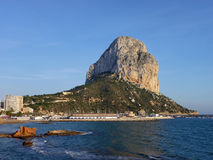 Peñon de Ifach Royalty Free Stock Images