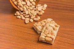 Pe de moleque Бразильская конфета арахиса Стоковые Изображения