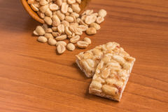 Pe de Moleque. Brazilian Peanut Candy Stock Images