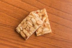 Pe de Moleque. Brazilian Peanut Candy Stock Photo