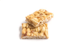 Pe de moleque Doces brasileiros do amendoim Fotografia de Stock Royalty Free