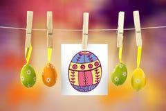 pe047_eggs_03_bs_nf的综合图象 免版税库存照片