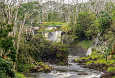 Pe Epe E Falls Hawaii Royalty Free Stock Image