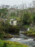 Pe'epe'e Falls Hawaii Royalty Free Stock Images