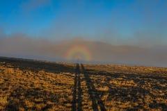 pełna rainbow Zdjęcia Stock