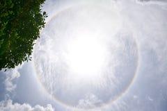 pełna rainbow Obraz Royalty Free