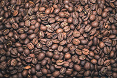Pełnego ekranu kawowe fasole Zdjęcie Royalty Free