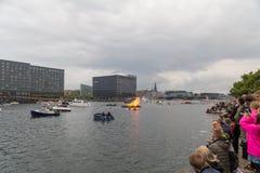 Pełni lata wigilia w Kopenhaga Obraz Royalty Free
