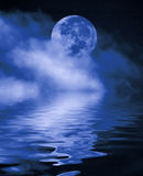 pełnia noc Fotografia Stock
