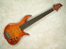 pełny kolor bass gitara kochanie Fotografia Royalty Free
