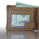 Pełny portfel Zdjęcia Stock