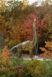 Pełnych rozmiarów brachiosaurus dinosaur Zdjęcia Stock