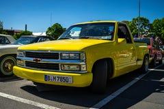 Pełnych rozmiarów furgonetki Chevrolet C1500 kroka strona Silverado, 1991 Fotografia Royalty Free