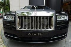 Pełnych rozmiarów luksusowy samochodowy Rolls Royce Wraith (od 2013) Obrazy Royalty Free