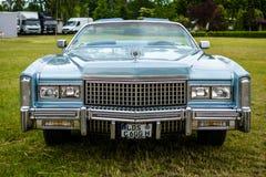 Pełnych rozmiarów osobisty luksusowy samochodowy Cadillac Eldorado siódmego pokolenie Obraz Royalty Free
