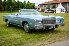 Pełnych rozmiarów osobisty luksusowy samochodowy Cadillac Eldorado siódmego pokolenie Fotografia Stock
