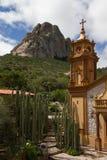 PeA±aa de贝尔纳尔,巨型独石,墨西哥 免版税图库摄影