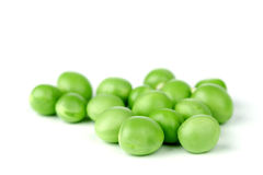 Pea bean  on white Royalty Free Stock Photography