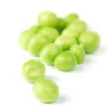 Pea bean  on white Stock Images