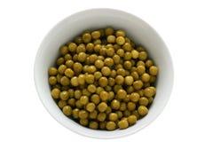 Pea in a bowl Stock Photos
