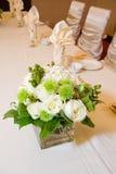 Peça central Wedding da tabela principal Fotografia de Stock Royalty Free