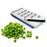 Pea Counter Stock Photography