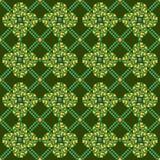 Pea Geometric Seamless Pattern Imagenes de archivo