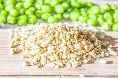 Pea grains Stock Photo