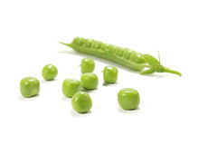 Pea isolated Royalty Free Stock Images
