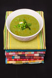 Pea mint soup Stock Photography