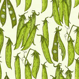 Pea pattern Stock Photography