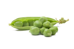 Pea pod Royalty Free Stock Image