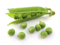 Pea pod Stock Photos