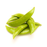 Pea pods Royalty Free Stock Images