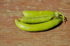 Pea pods Stock Photo