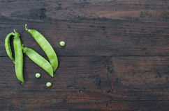 Pea pods Royalty Free Stock Photography