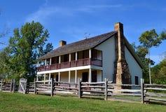 Pea Ridge National Military Park Elkhorn krog Arkivbilder