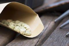 Pea Seeds Photo stock