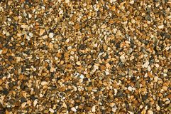 Pea Shingle Gravel. Pea Shingle is a gravel often used for pathways in gardens and construction royalty free stock photos