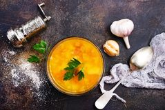 Pea Soup Arkivfoto