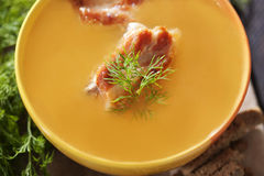 Pea soup Royalty Free Stock Photos