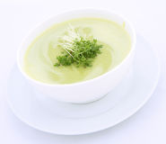 Pea soup Royalty Free Stock Images