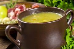 Pea soup Stock Photography