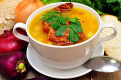 Pea Soup Stock Afbeeldingen