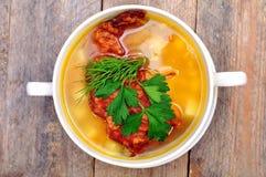 Pea Soup Royaltyfri Fotografi