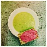 Pea Soup Imagem de Stock Royalty Free