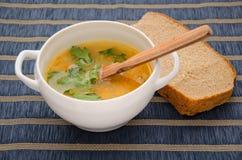 Pea Soup Fotografie Stock Libere da Diritti