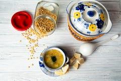 Pea Soup Fotos de archivo libres de regalías