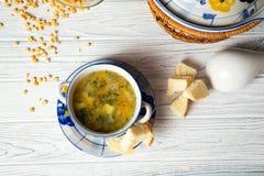 Pea Soup Fotografering för Bildbyråer