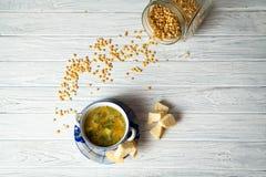 Pea Soup Fotografía de archivo libre de regalías